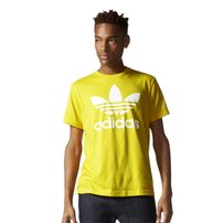 Adidas Trefoil T Originals Yellow AY7707