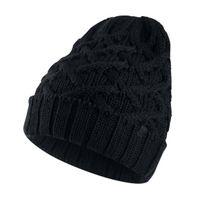 Air Jordan Cable Knit Beanie Black Black
