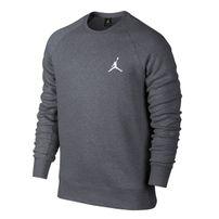 Svetr Air Jordan Flight Crew Sweatshirt Carbon Grey