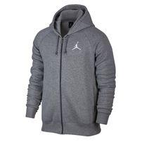 Mikina Air Jordan Flight Fleece Full-Zip Hoodie Carbon Heather Grey