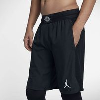 Šortky Air Jordan Ultimate Flight Basketball Shorts Black Black