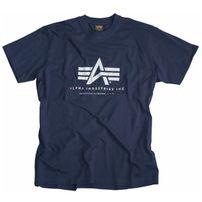 Pánské tričko Alpha Industries Basic T-Shirt Navy