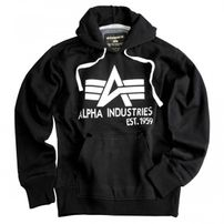 Alpha Industries Big A Classic Hoody Black