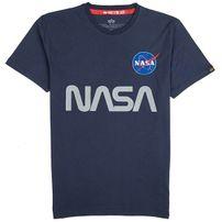 Pánské tričko alpha industries NASA Reflective T-Shirt