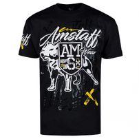 Amstaff Canis Tee Black