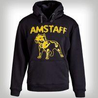 Amstaff Logo Hoody - gelb