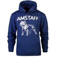 Amstaff Logo Hoody - navy