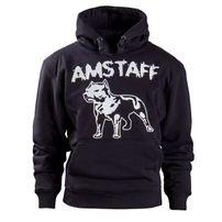 Amstaff Logo Hoody - schwarz