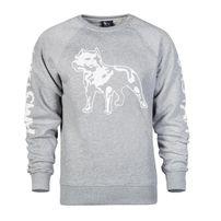 Amstaff Logo Sweater - grau