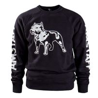 Amstaff Logo Sweater - schwarz