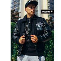 Amstaff Narvik College Jacket Black