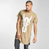Cavallo Streets Long Oversize T-Shirt Beige