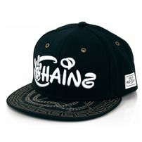 Cayler & Sons Chainz Black White Gold Snapback