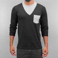Cazzy Clang Breast Pocket Longsleeve Black/Grey