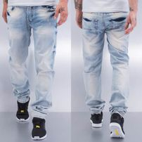 Cazzy Clang Wishy Washy Straight Fit Jeans Blue
