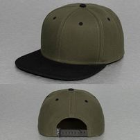Cyprime 2 Tone Snapback Cap Green/Black