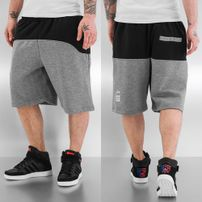 Dangerous DNGRS 2 Tone Shorts Grey/Black