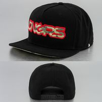 Dangerous DNGRS 5 Panel Snapback Cap Black/Camo