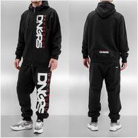 Dangerous DNGRS Classic Sweat Suit Black Red