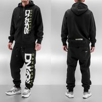 Dangerous DNGRS Classic Sweat Suit Black/Green