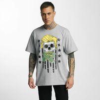 Dangerous DNGRS Don Bomb T-Shirt Grey Melange
