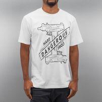 Dangerous DNGRS Hardcore Uzi T-Shirt White