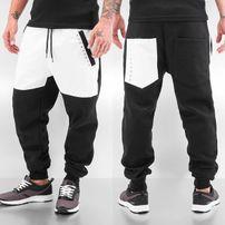 Dangerous DNGRS PU Sweat Pants Black/White