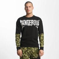 Dangerous DNGRS / Pullover Methal in black