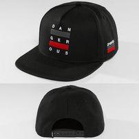 Dangerous DNGRS / Snapback Cap Uncaged in black