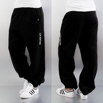 Dangerous DNGRS Soft Dream Leila Ladys Logo Sweat Pants Black/White