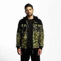 Dangerous DNGRS / Zip Hoodie Two Tone in camouflage