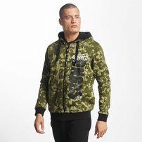 Dangerous DNGRS / Zip Hoodie Unexpected in camouflage