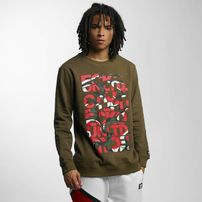 Ecko Unltd. Military Sweatshirt Olive