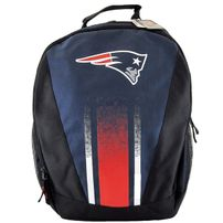Forever Collectibles NFL Stripe Primetime Backpack PATRIOTS