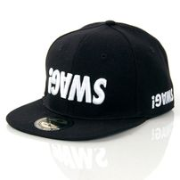 GangstaGroup Basic Swag! Logo Full Cap Black