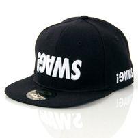 GangstaGroup Basic Swag! Logo Full Cap Black