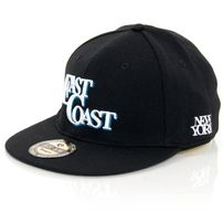 GangstaGroup East Coast Cap Black