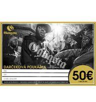GangstaGroup Gift Certificate - Darcekova Poukazka