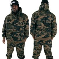 Hoodboyz Contrast Sweat Suit Camo