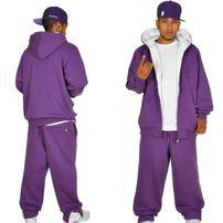 Hoodboyz Contrast Sweat Suit Purple White
