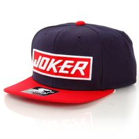 Joker Brand QS X Starter Snapback Navy Red