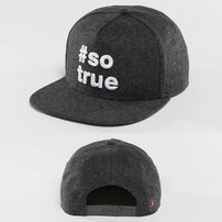 Kšiltovka Just Rhyse Being True  Snapback Cap Anthracite