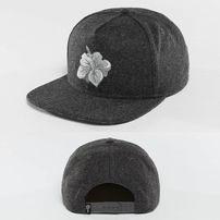 Kšiltovka Just Rhyse Hawaiian Snapback Cap Anthracite