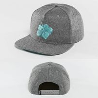 Kšiltovka Just Rhyse Hawaiian Snapback Cap Grey