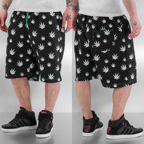 Just Rhyse Hemp Shorts Black