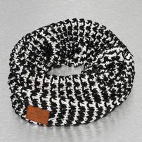 Just Rhyse Knit Scarf Black/White