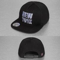 Just Rhyse New York Style Snapback Cap Black