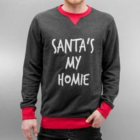 Just Rhyse Northpole Sweatshirt Anthracite