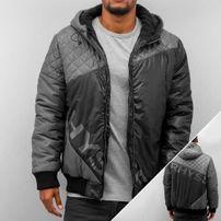 Just Rhyse Quilt Cross Winter Jacket Grey/Black