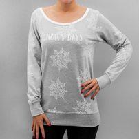Just Rhyse Snowy Days Sweatshirt Grey